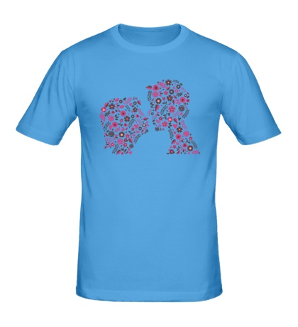 Мужская футболка Love