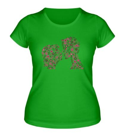 Женская футболка «Love»