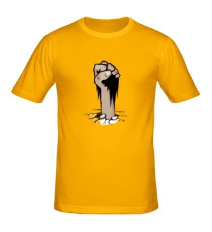 Мужская футболка Сопротивление: Революция