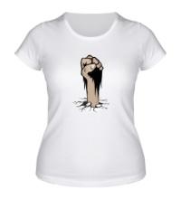 Женская футболка Сопротивление: Революция
