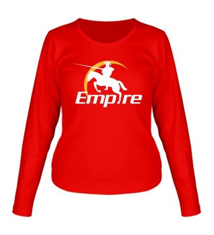 Женский лонгслив Empire Team