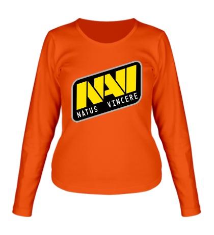 Женский лонгслив «NAVI Team»