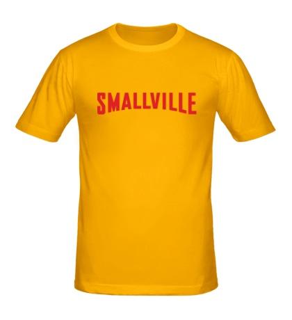Мужская футболка Smallville Superman