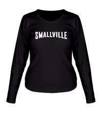 Женский лонгслив Smallville Superman
