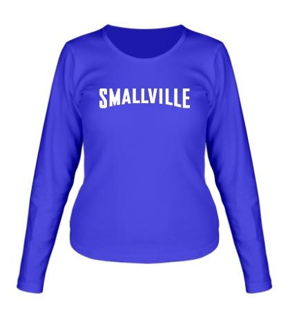Женский лонгслив «Smallville Superman»