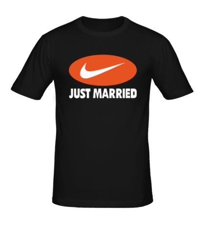 Мужская футболка Just do Married