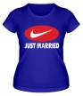 Женская футболка «Just do Married» - Фото 1
