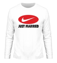 Мужской лонгслив Just do Married