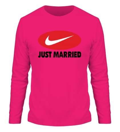Мужской лонгслив Just do Married