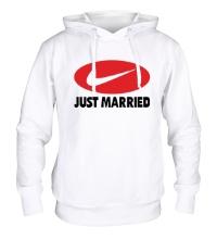 Толстовка с капюшоном Just do Married
