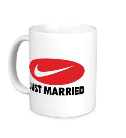 Керамическая кружка Just do Married