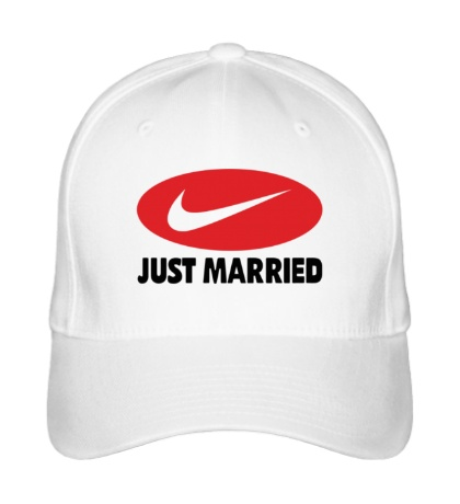 Бейсболка Just do Married