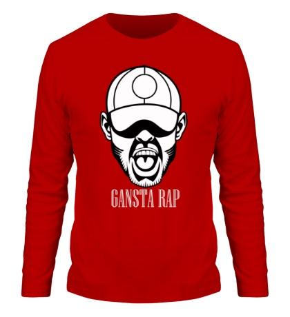 Мужской лонгслив «Gansta Rap»