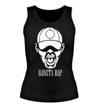 Женская майка Gansta Rap