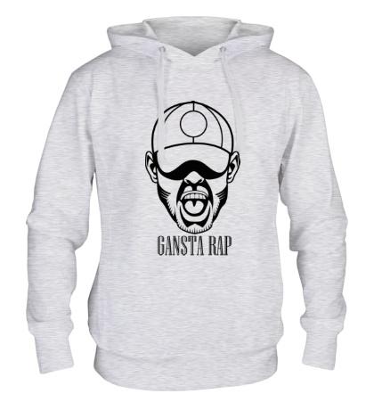 Толстовка с капюшоном «Gansta Rap»