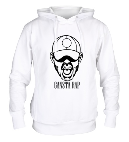 Толстовка с капюшоном Gansta Rap