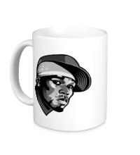 Керамическая кружка Curtis Jackson: 50 Cent