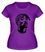 Женская футболка «Тупак Шакур» - Фото 1