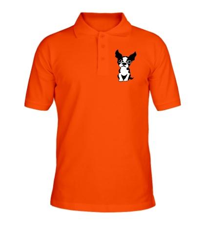 Рубашка поло Грустный пес