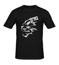 Мужская футболка Бегущий тигр