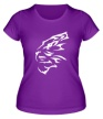 Женская футболка «Бегущий тигр» - Фото 1