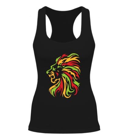 Женская борцовка Огненный лев