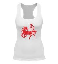 Женская борцовка Символ лошади