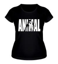Женская футболка Animal