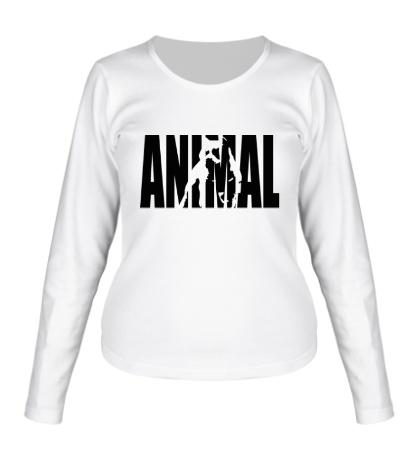 Женский лонгслив «Animal»