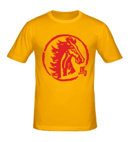 Мужская футболка «Год лошади»