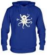 Толстовка с капюшоном «Гигантский осьминог, свет» - Фото 1