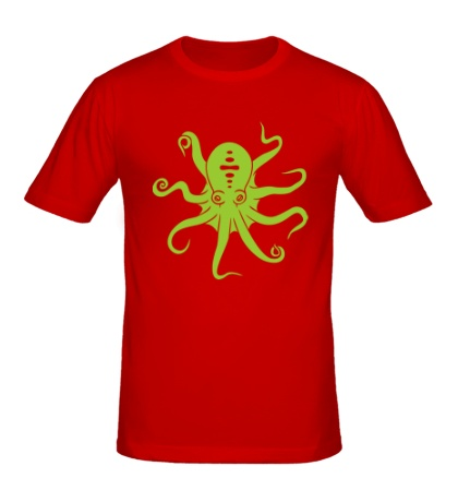 Мужская футболка Гигантский осьминог