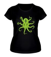 Женская футболка Гигантский осьминог