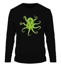 Мужской лонгслив Гигантский осьминог