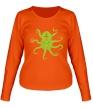 Женский лонгслив «Гигантский осьминог» - Фото 1