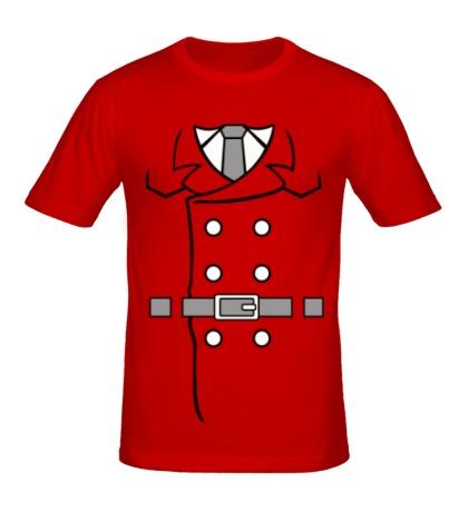 Мужская футболка Костюм инспектора