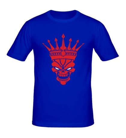 Мужская футболка Череп короля