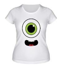 Женская футболка Циклоп