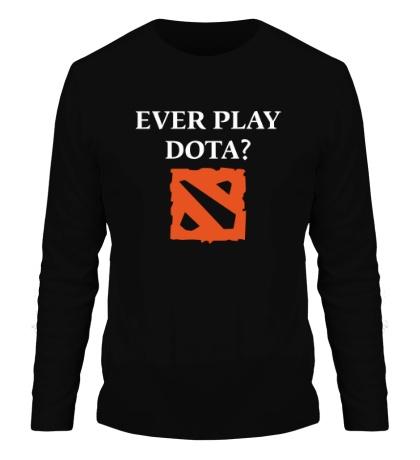 Мужской лонгслив Ever play Dota?