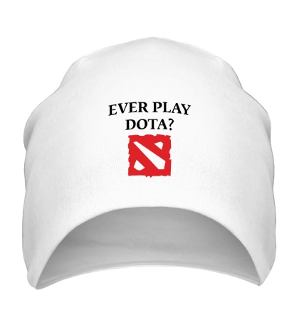 Шапка «Ever play Dota?»
