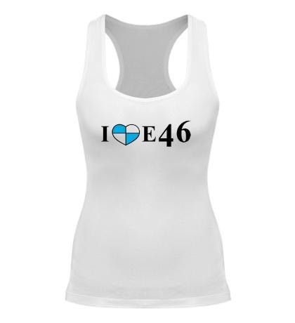 Женская борцовка I love e46