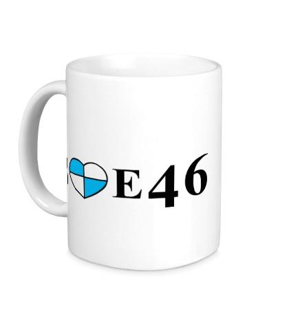 Керамическая кружка I love e46
