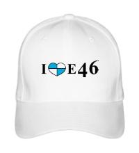 Бейсболка I love e46