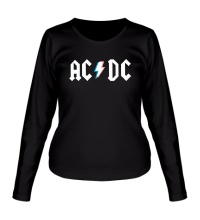 Женский лонгслив AC/DC Stereo