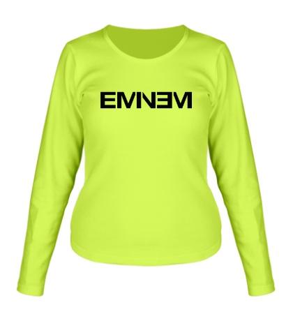 Женский лонгслив Eminem Logo