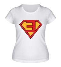Женская футболка Eminem Superhero