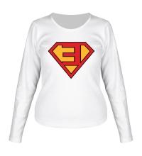 Женский лонгслив Eminem Superhero