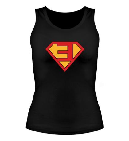 Женская майка Eminem Superhero