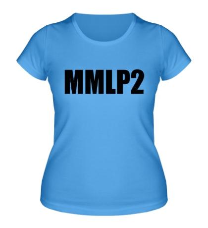 Женская футболка Eminem MMLP2