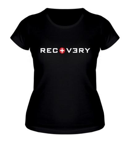 Женская футболка Recovery Eminem